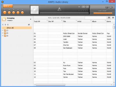 aimp3-audio-library